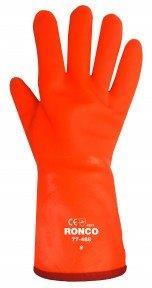 Gants PVC Ronco orange.