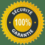 Sécurité 100% Garantie