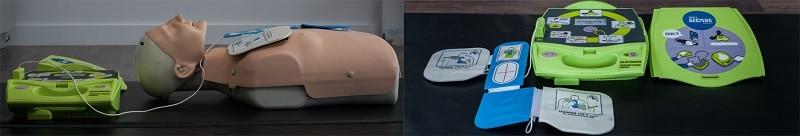 Défibrillateur automatique pour premiers soins
